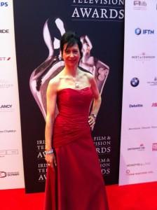 Fiona Ashe at the Irish Film and Television Awards